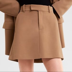 Zara A-Line Mini Skirt